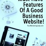 Features Of A Good Business Website
