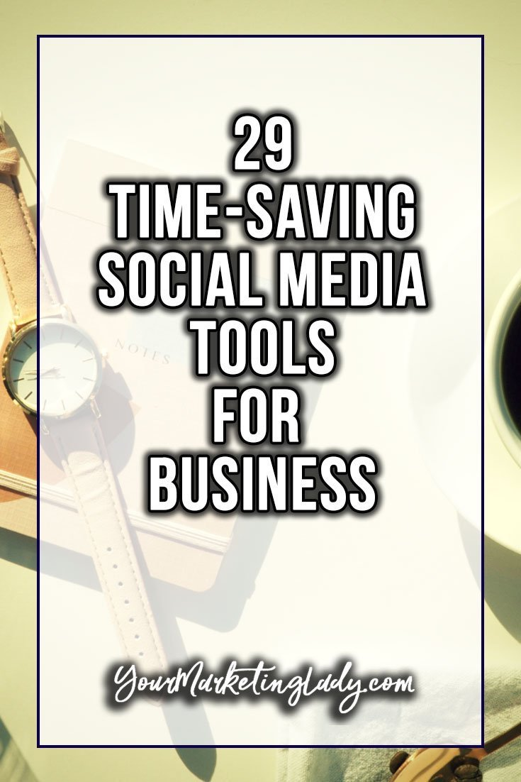 time saving social media tools for business