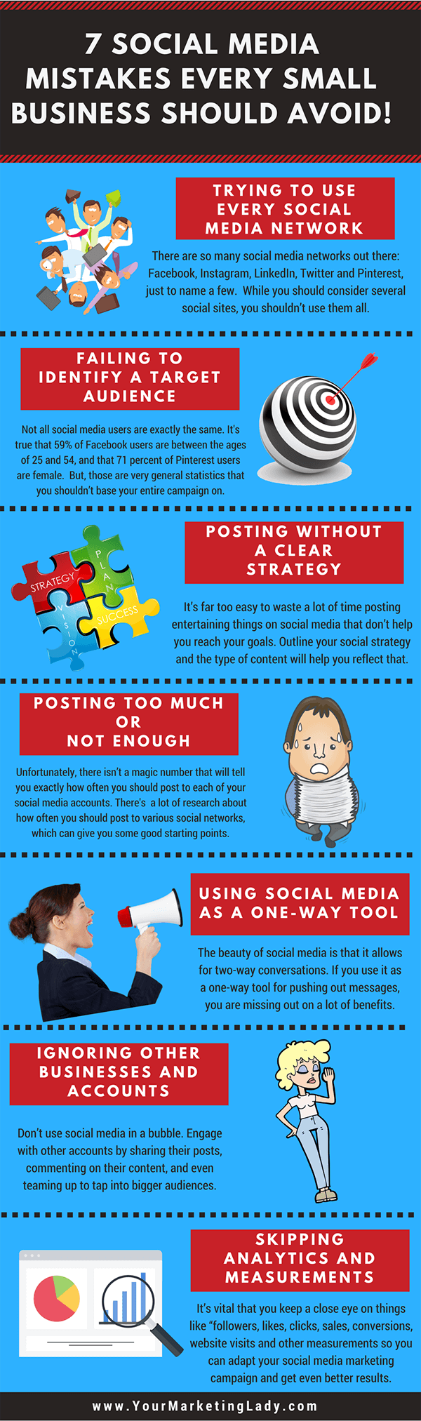 7 Social Media Mistakes Every Small Business Should Avoid