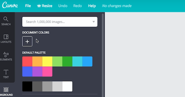 canva-default color-palette