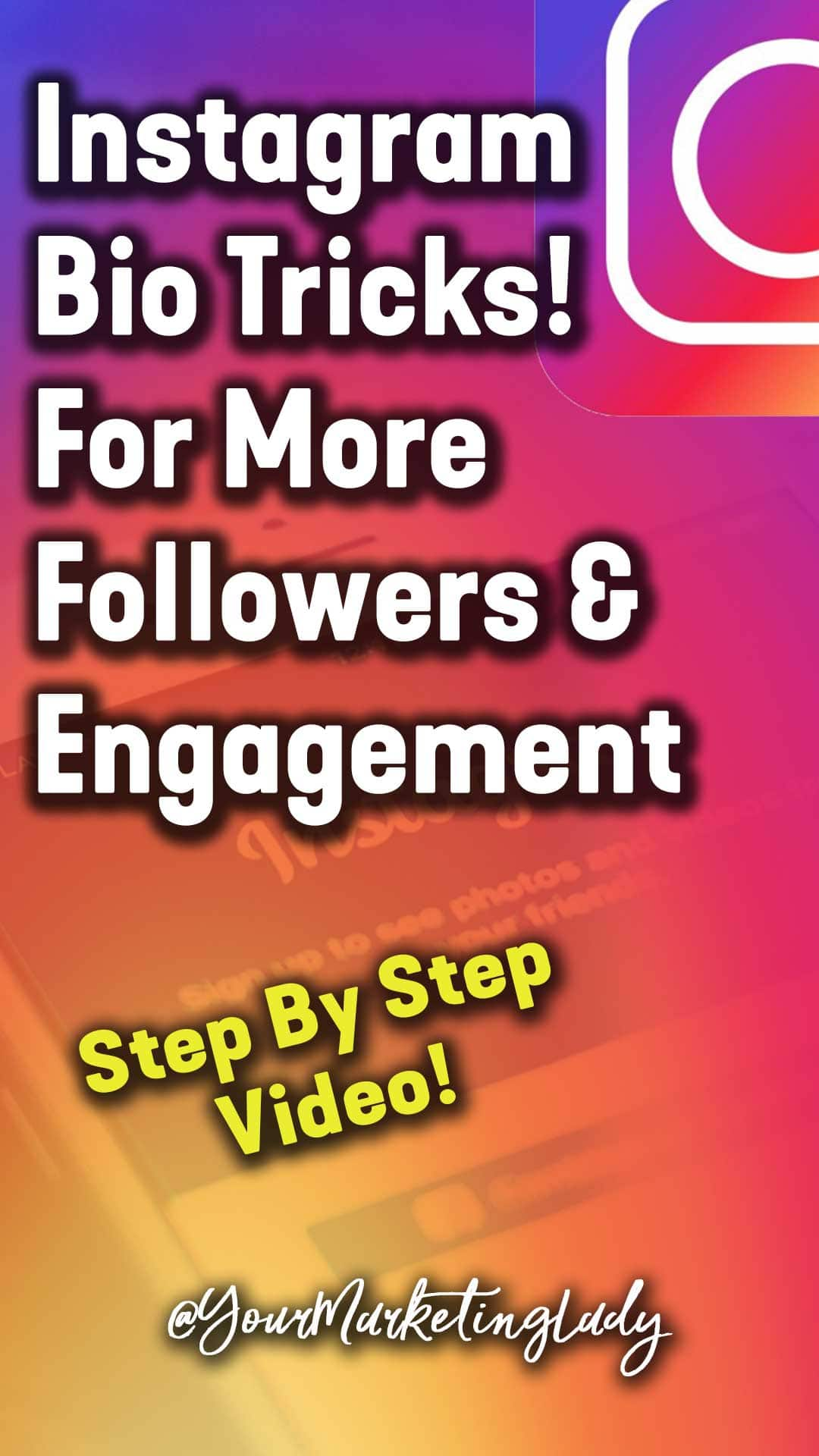 5 Instagram bio tricks and tips that will help you optimize your bio for more followers and more engagement on Instagram. #Instagrammarketing #Instagramtips #socialmediamarketing #socialmediatips