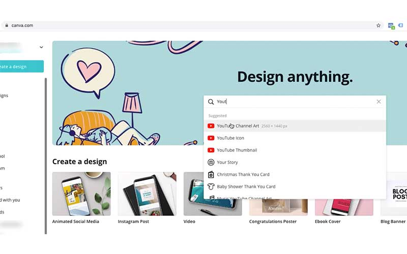 Create A YouTube Banner