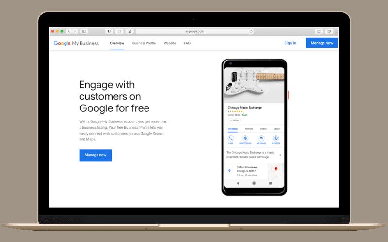 google my business management service atlanta