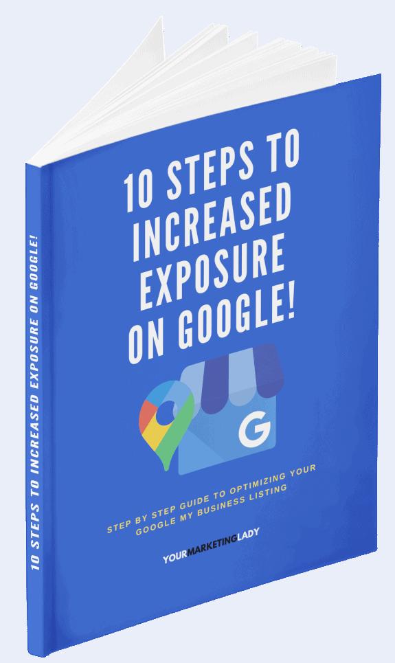10 Steps To Increased Exposure On Google eBook