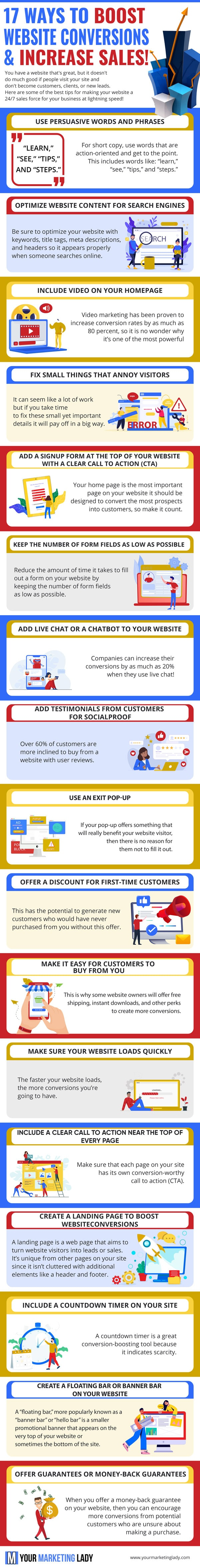 17-ways-to-increase-conversions-infographic